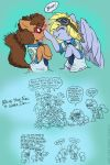 Postal Pony Hijinks by MustLoveFrogs