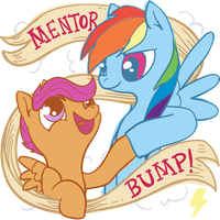 Mentor Bump by sofas-and-quills