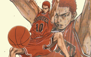 SLAM DUNK 02 by d4ncecAt