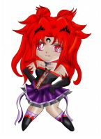 Project: Chibi Imperial Sailor Nemesis (Colo) by TenshiNeera
