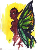 African Fairy by marimoreno