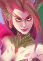 Zyra by SheWolfArts