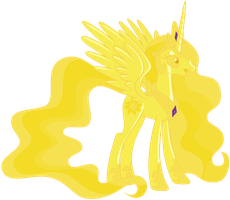 Golden Celestia by Magister39