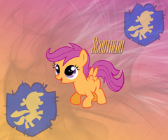 Scootaloo Android 960x800 BG by TecknoJock