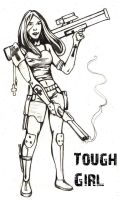 The Tough Girl Archetype by Christopher-Stoll