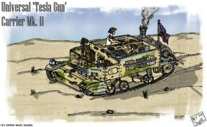 Steampunk Universal Carrier by marhar