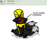 yes im clearlly A BANANA :T by deamonwolf20