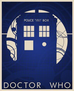 Doctor Who Poster by WormDog1