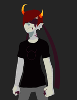 current look of Sam. by Undeadhatred