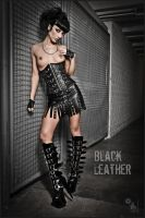Black Leather by MagistusFoto