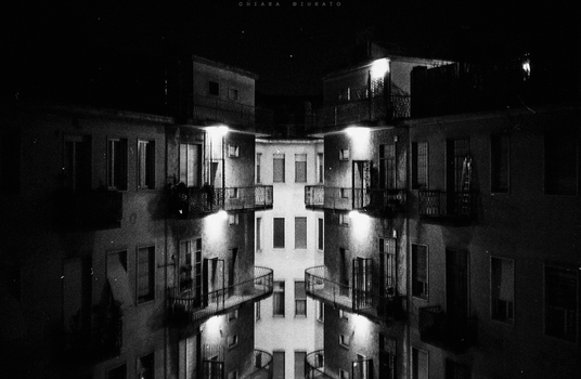 Composition of windows and lights by everypathtonowhere
