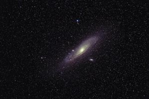 Andromeda Galaxy Widefield by DoomWillFindYou