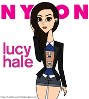 Lucy Hale on Nylon Magazine by katidoodlesmuch