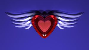 Winged Heart Two by TylerXy