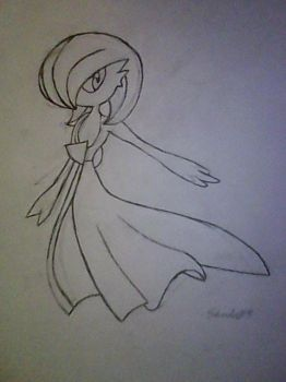 Gardevoir by shado013