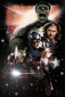 The Avengers Part 1 by amesjeff12