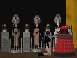 Dalek Robotization by creativeguy59