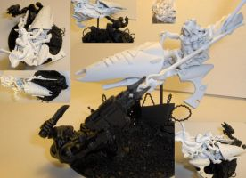 Jetbike Farseer with base by cbomb13