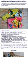 Marker Tutorial for Beginners by Gwennafran