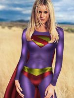 Kingdom Come Supergirl by robwalley