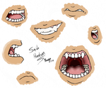 Snide mouth practice by Naugahide