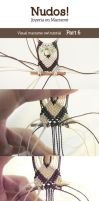 Macrame Owl Tutorial - Part 6 by enenauta