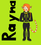 Rayna Balckwell in Paint 2 by DrgonRidngFaeryWitch