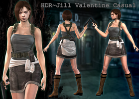 {HDR} Series - Jill Valentine (Casual) by ViCt0RXD