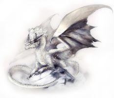 Monster Hunter: White Fatalis by Kiguri