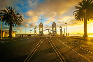 Cunningham Pier Sunrise by DanielleMiner