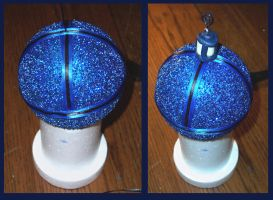 How to Make a Tardis Christmas Ornament pt. 3 by Vivienne-Mercier