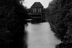 The Path BW by Kaddastrophic