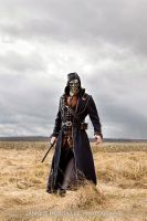 Corvo in a field by NeonCowboy
