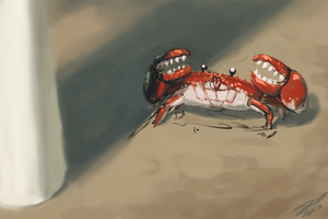 Crab Battle! by AssasinMonkey