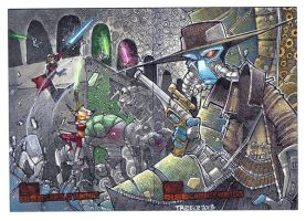 Star Wars : the Clone Wars Puzzle by JeremyTreece