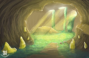 The cave by May-Lene