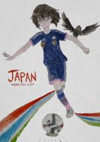 Japan(Girl)-Women's world cup by ZNsnowbell4