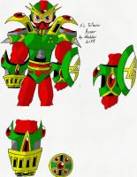 Megaman X's Triforce Armor by X-Club