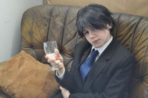 Artemis Fowl II by BedraggledKitty
