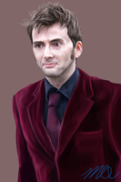 David Tennant by Madiswain