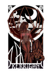 Nouveau Inspired Kerrigan Design by Slothgirlart