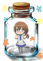 Lue in a Bottle by AnnaRiches