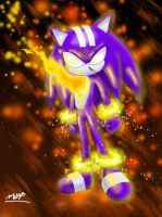DarkSpine Sonic by EvilMel