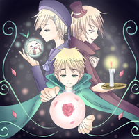 APH - The Magic club by Mi-chan4649