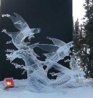 Ice art  Stop Motion by shadowcat7