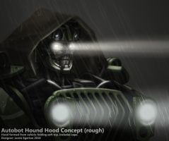 Hound Rough Hood Concept by Jamie-Egerton