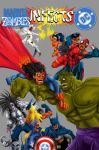 Marvel Zombies infects DC by Saraguatto
