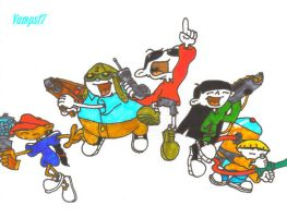 Codename: Kids Next Door by Vamps17