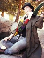 Fourth Doctor Cosplay - 2 by Revolution-Nein