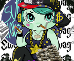 STRAIGHT SWAG GANGSTA by Ask-MusicPrincess3rd